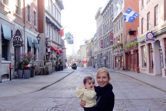 Voyager au Québec avec bébé