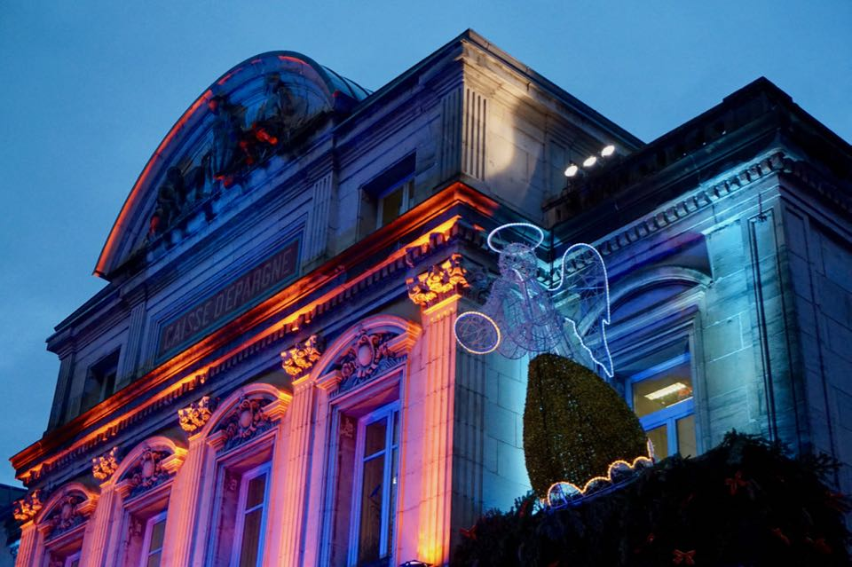 Lumières de Noël à Montbeliard