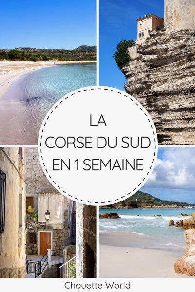 1 semaine en Corse du Sud : que faire ?