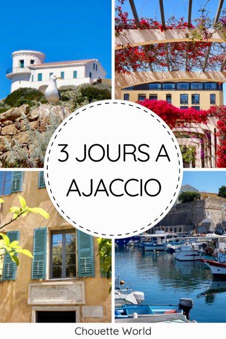3 jours à Ajaccio