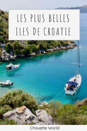 Les plus belles iles de Croatie