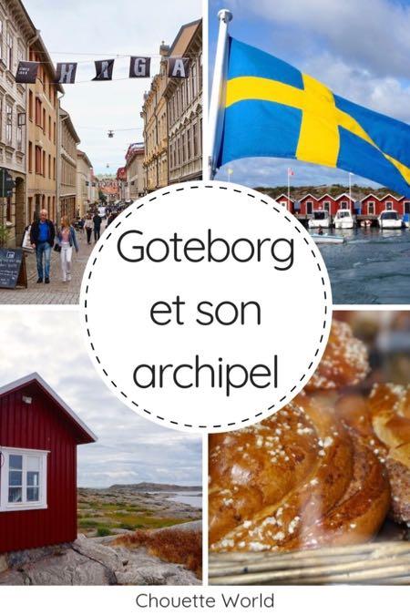 Visiter Goteborg et son archipel