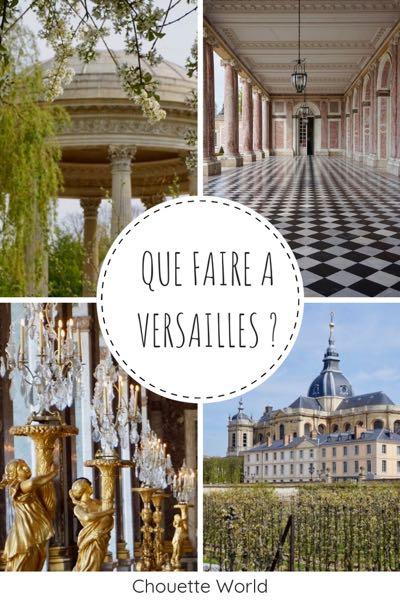 Que faire à Versailles ?