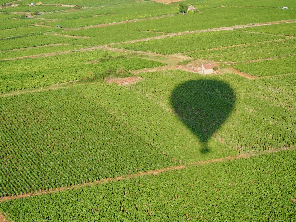Vol en montgolfière Beaune