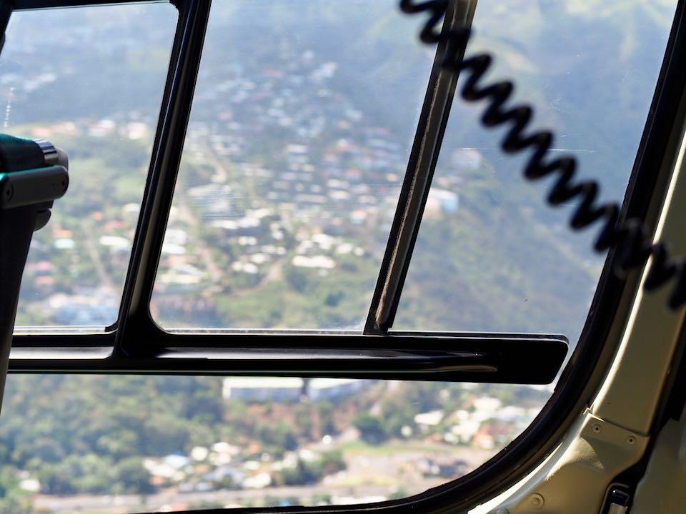Vol en hélicoptère Tahiti