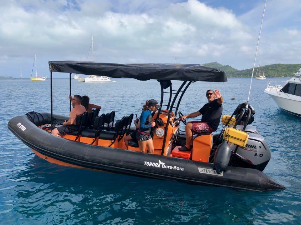 snorkeling lagon Bora