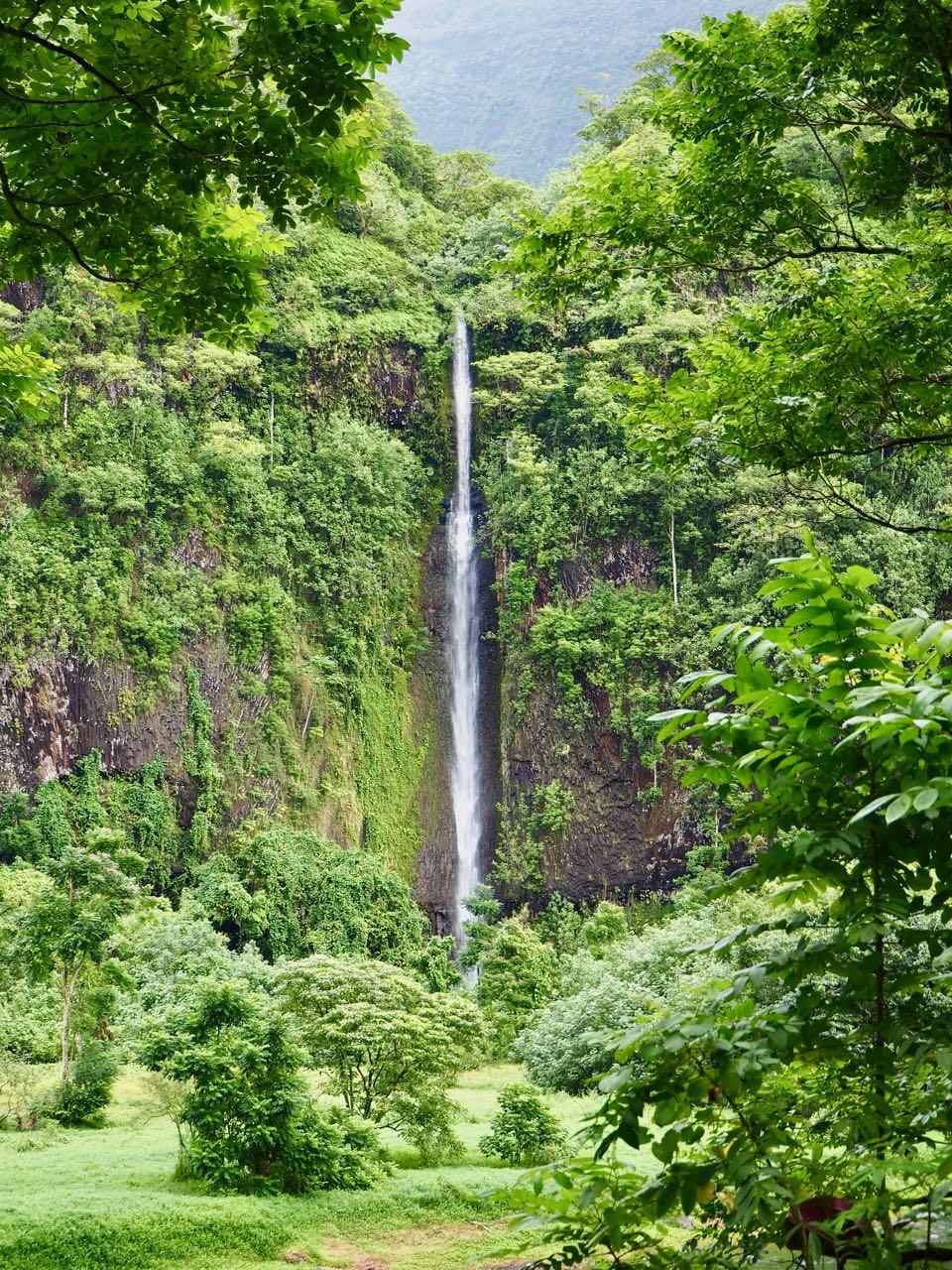 Vallee de Papenoo Tahiti