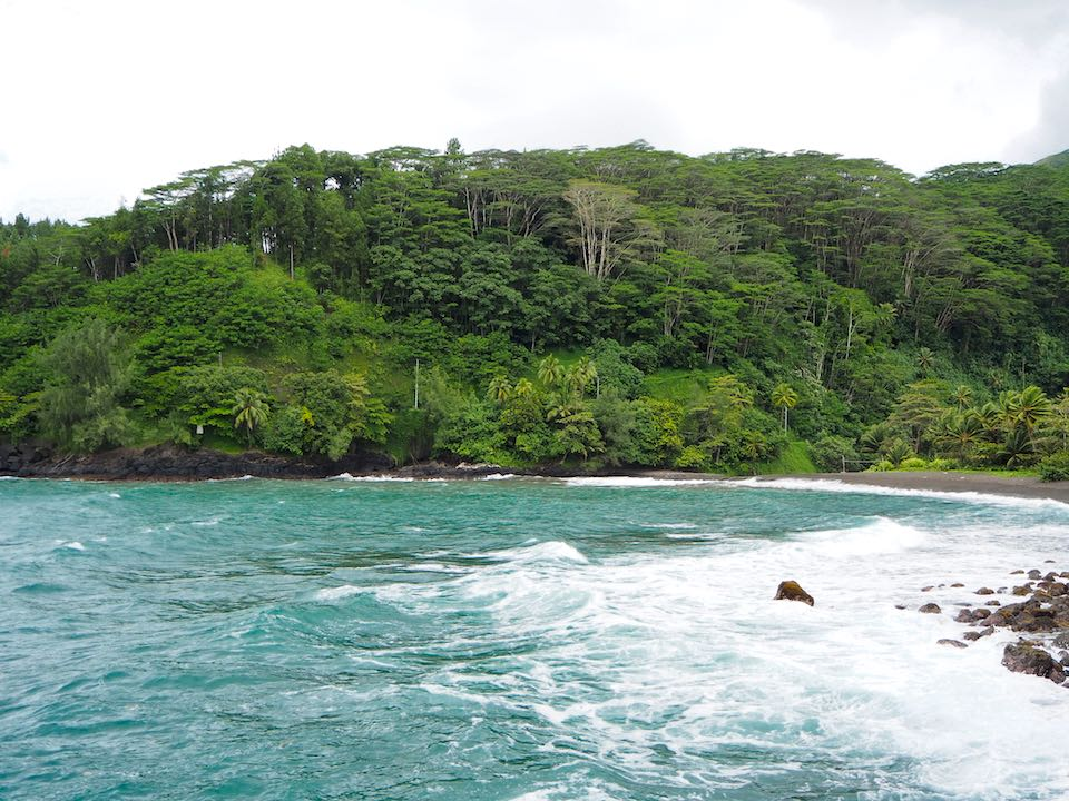 Visiter Tahiti : trou du souffleur