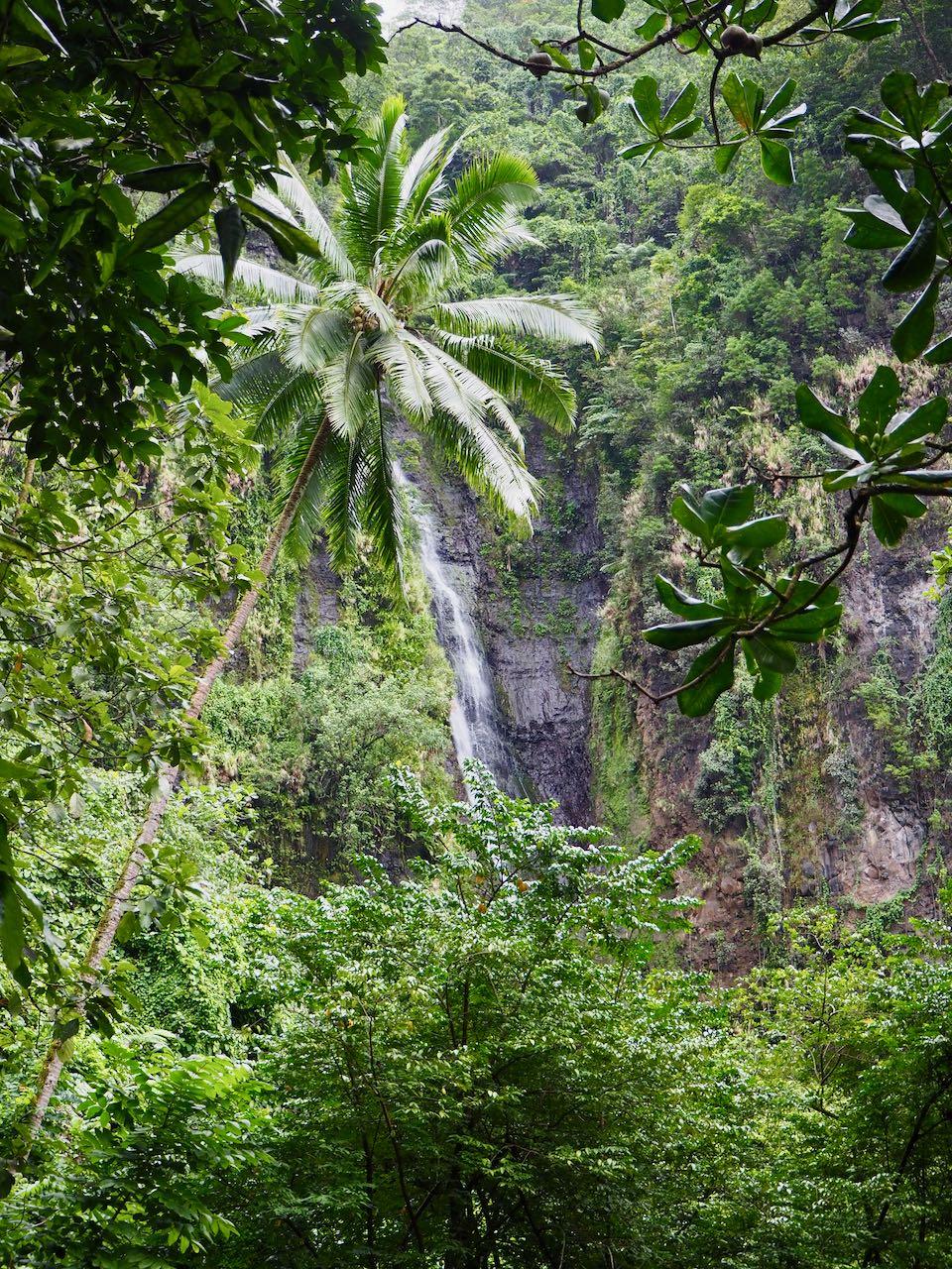 Visiter Tahiti : cascades