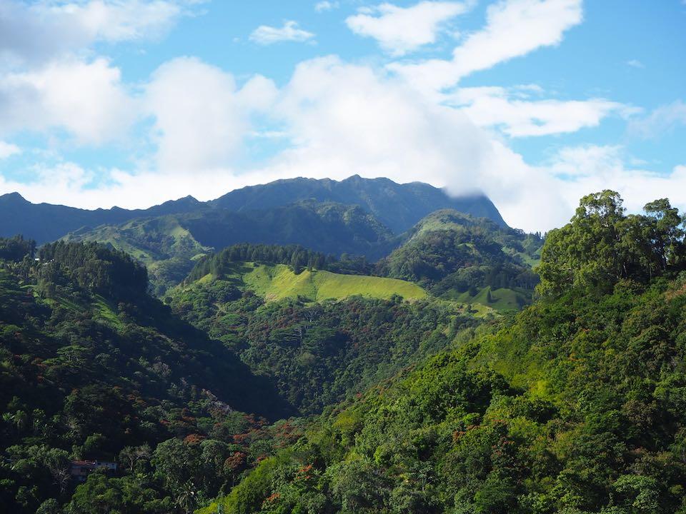 mont aorai tahiti