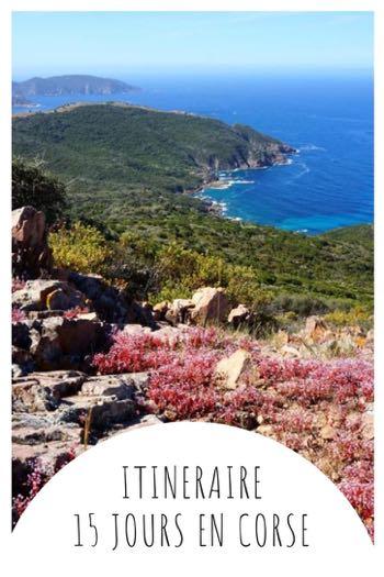 Itinéraire 15 jours en Corse