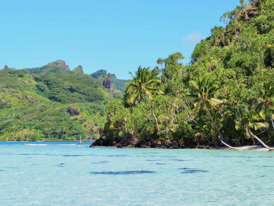visiter huahine : lagon
